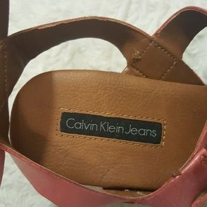 Calvin Klein Jeans Shoes - Calvin Klein Cailey Platform Wedge Sandals